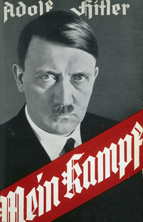 A Mein Kampf book dust-jacket or cover, most common in the Early Years